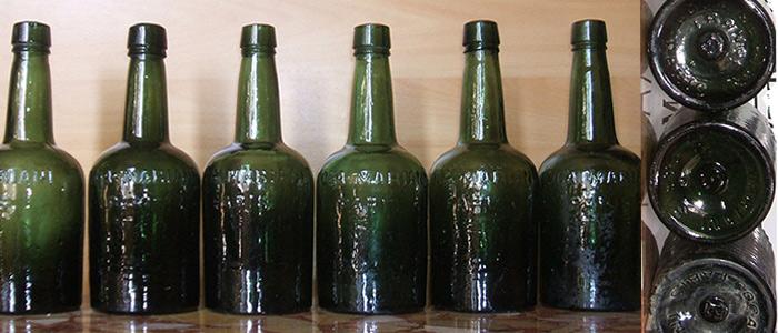 bouteille de vin grave