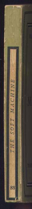 Auteur: William BURROUGHS, titre: Curandera, THE SOFT MACHINE, Edition: The Olympia Press, Paris 1961 EO en anglais, livre en vente sur www.wanted-rare-books.com/