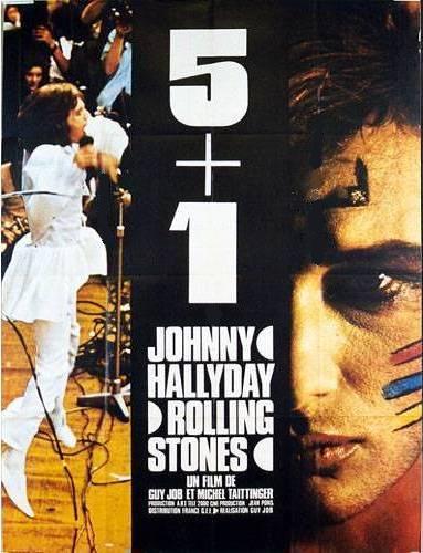 5+1,affiche du film avec Johnny hallyday, Mick Jagger et les Rolling Stones, affiche grand format : 120 cm x 160 cm,du film réalisé par Guy JOB, affiche grand format : 120 cm x 160 cm, en vente  sur www.wanted-rare-books.com/5-plus-1-hallyday-jagger-rolling-stones-affiche-originale-120x160.htm et sur www.wanted-rare-books.com/cinema.htm