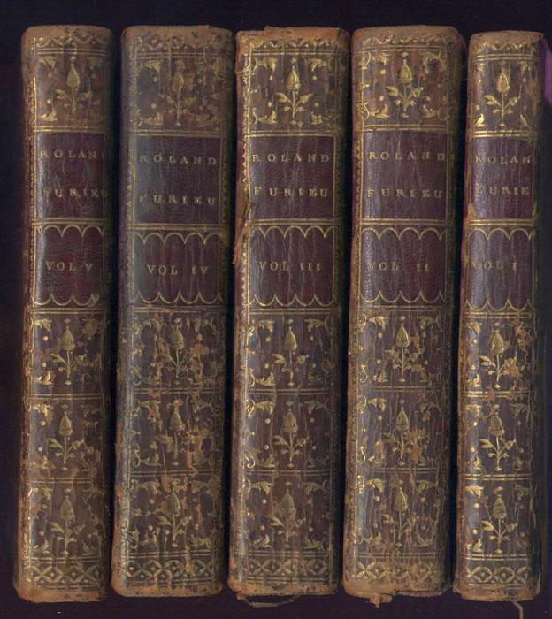 reliure Reliures plein veaux d'époque, ornées avec pièces de titres à l'or, tomaisons et signets - www.wanted-rare-books.com - Librairie on-line - Marseille