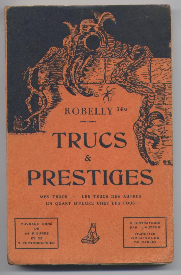 livre robelly - trucs - magie