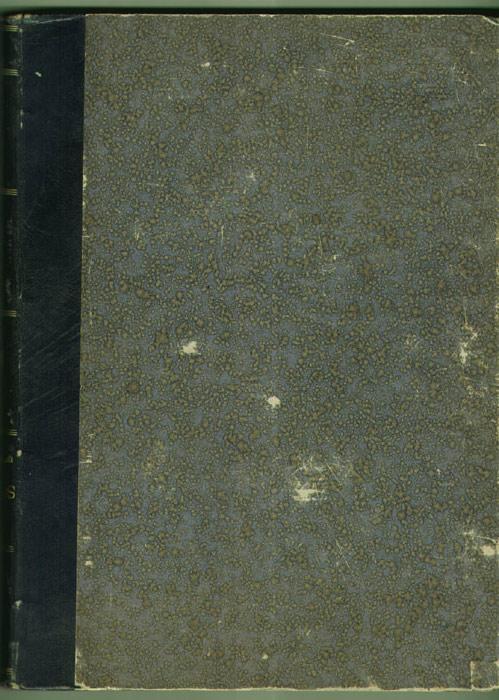 Plat de la reliure de l'illustré Soleil du dimanche, 1896