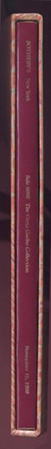 Le dos du livre dans son slip case