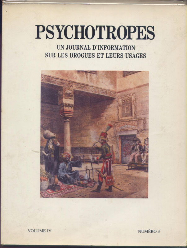 Psychotropes : Un journal d'information sur les drogues et leurs usages, en vente  sur www.wanted-rare-books.com/psychotropes-revue-the-marvelous-elixir-of-monsieur-mariani-vermeulen-windsant-dean-latimer.htm - Librairie on-line Marseille