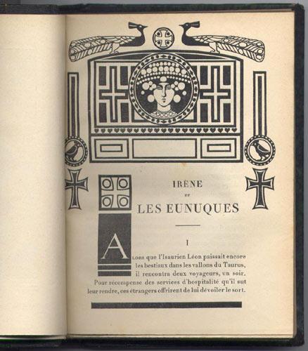 Irene et les eunuques, livre en vente sur www.wanted-rare-books.com/adam-eunuques.htm