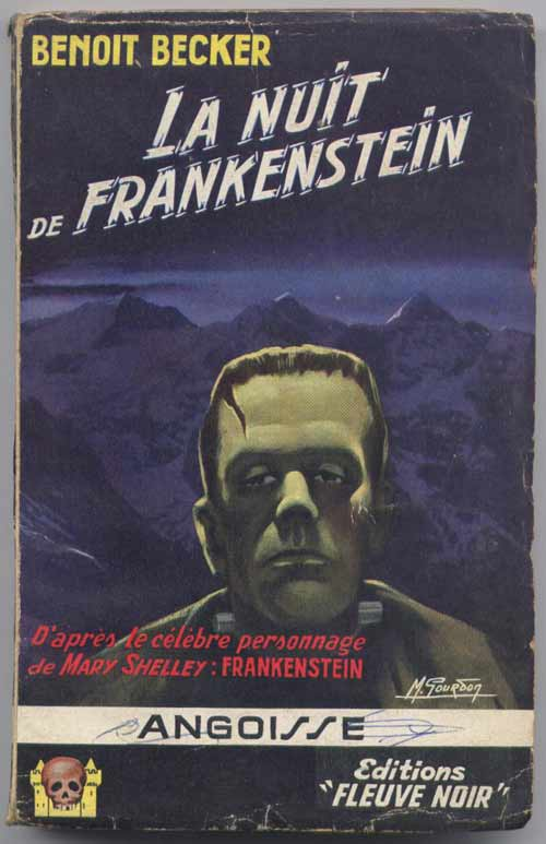 La nuit de Frankenstein n° : 34 du FN Angoisse