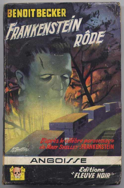 Frankenstein rôde n° : 41 du FN Angoisse