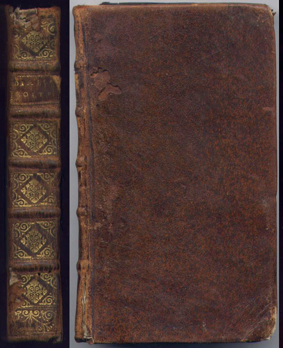 auteur: Alain-René LESAGE,titre: LE DIABLE BOITEUX,editeurs: Chez la Veuve Bartin, 1720,reliure plein cuir d'époque,  en vente sur www.wanted-rare-books.com/alain-rene-lesage-le-diable-boiteux.htm