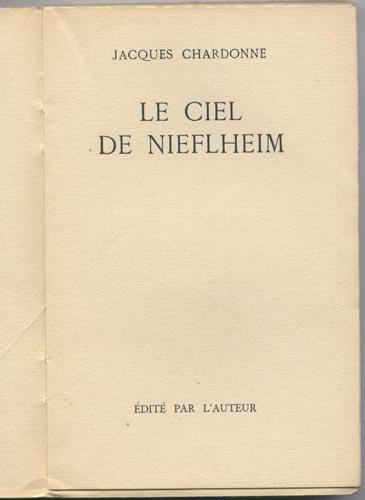Page Titre : Le Ciel de Nieflheim - 1943
