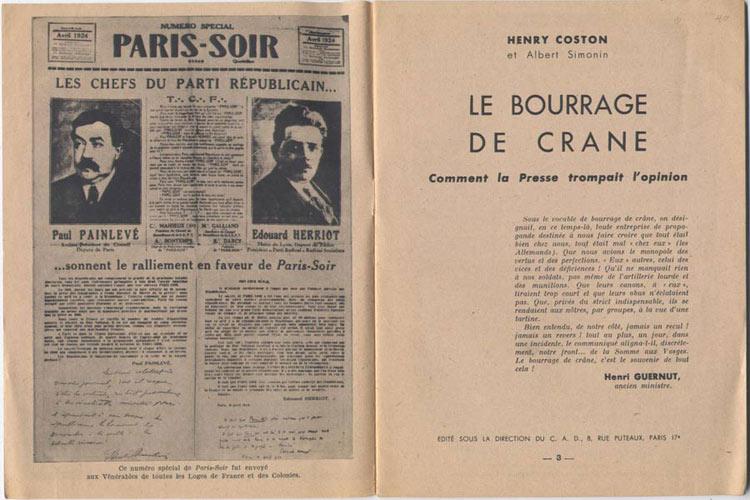 page 2 et 3 de : Le Bourrage de Crane
