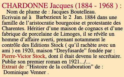 Jacques Chardonne le ciel de nieflheim