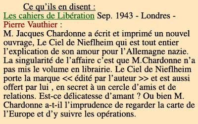 Jacques Chardonne ciel nieflheim