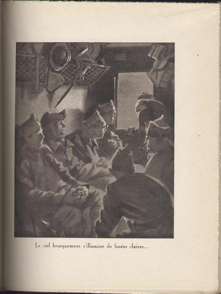 tournassus infanterie illustration probst