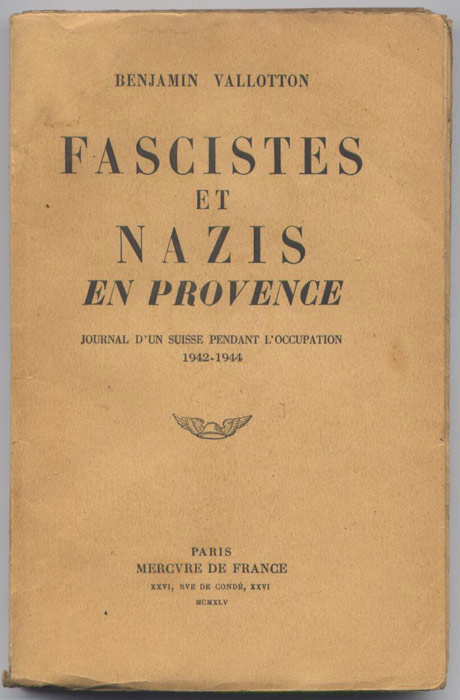 valloton nazis fascistes occupation