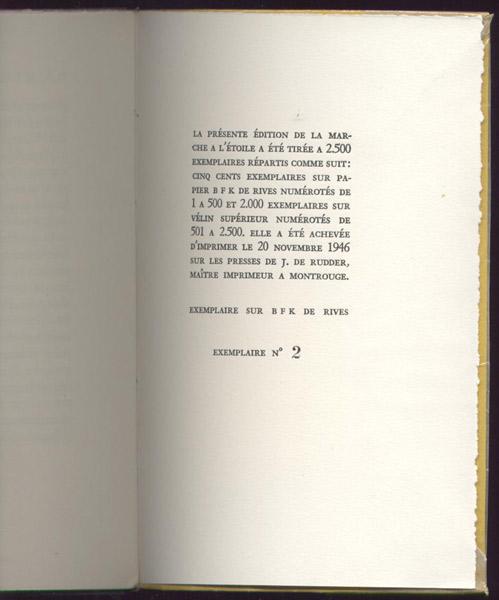 vercors numerote 2, dedicasse de Bruller