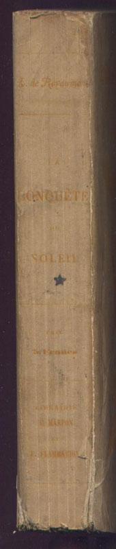 Louis de Royaumont, la conquête du soleil, Edition originale rare,