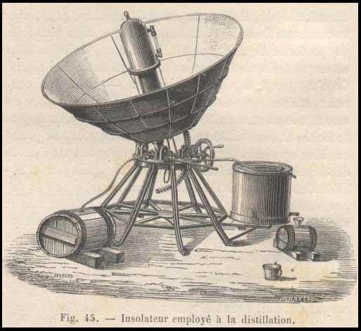 Louis de Royaumont insolateur pour la distillation