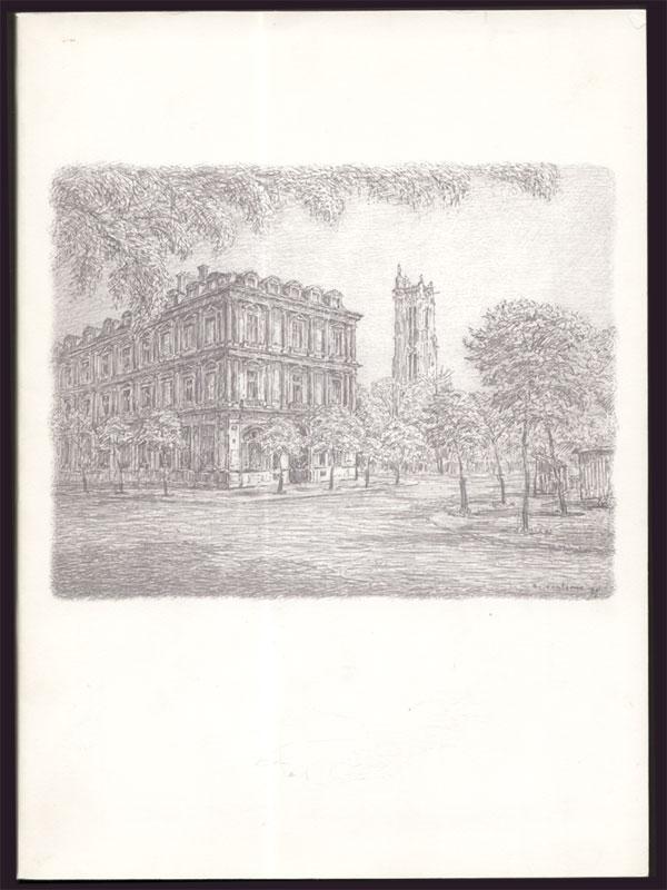Insern livret, catalogue titré le Notariat : Histoire , Art, Actualité, nombreuses illustrations, papier glacé