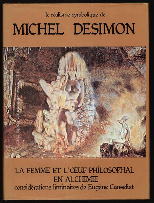 jaquette le réalisme symbolique, Michel Desimon, eugène Canseliet