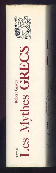 titre: LES MYTHES GRECS, auteur: Robert Graves, Editions: Fayard 1979 sous jaquette illustrée par Picasso en TBE voir scan, livre en vente sur www.wanted-rare-books.com/les-mythes-grecs-robert-graves-fayard-1979-jaquette-picasso.htm
