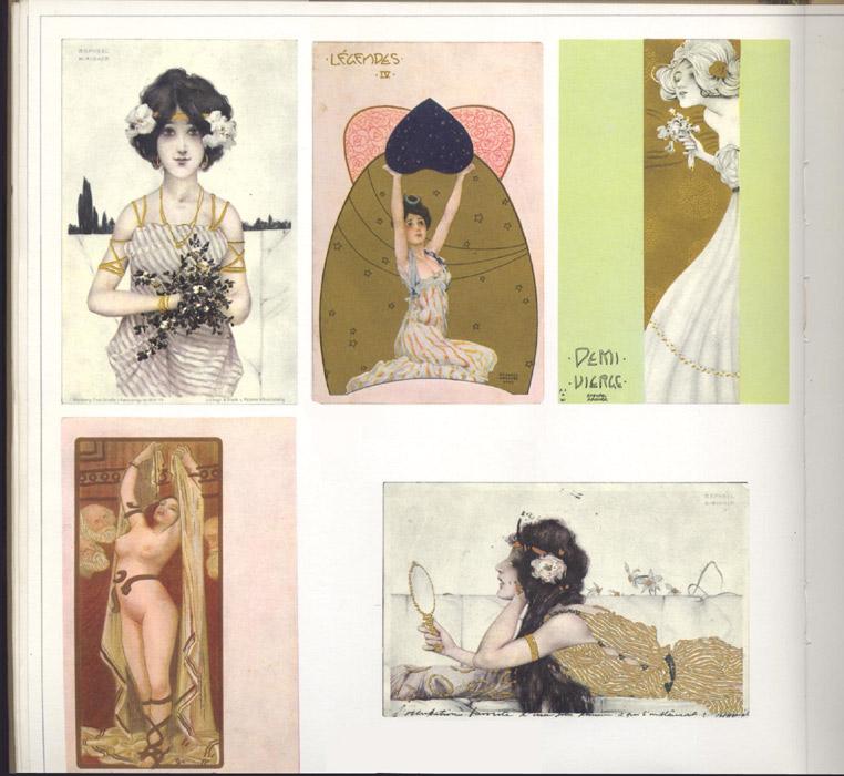 Kyrou cartes erotiques femmes