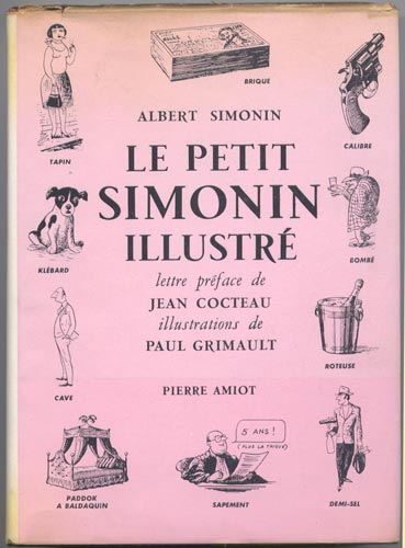 Couverture avec avec jaquette  de : Le Petit Simonin Illustré