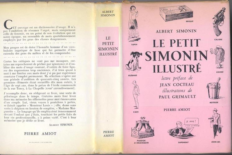 jaquette de : Le Petit Simonin Illustré