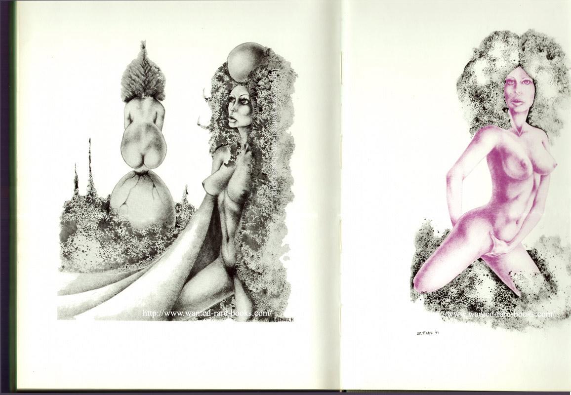 couverture éditeur, Stholl, dessins érotique, eric losfeld