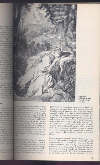 Wagner L'AVANT-SCENE OPERA, titre: TANNHAUSER, Editions: Premières Loges, editions originales en TBE voir scan, livre en vente sur www.wanted-rare-books.com/wagner-richard-tetralogie-l-anneau-du-nibelung-vaisseau-fantome-tristan-isolde-parsifal-tannhauser-avant-scene-opera-livre.htm