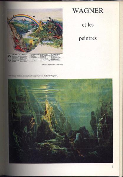 peintures du niebelungen, Numéro Spécial dirigé par Yvonne Caroutch - Nyons 1979
