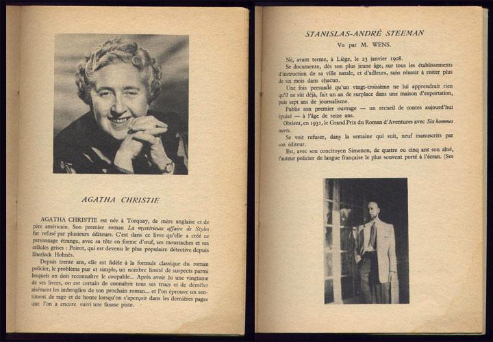LE  MASQUE, Catalogue des ouvrages parus dans la collection, 1924-1954, Librairie des Champs-Elysées, 1954, en TBE, en vente sur www.wanted-rare-books.com/le-masque-catalogue-des-ouvrages-roman-policier-1954.htm