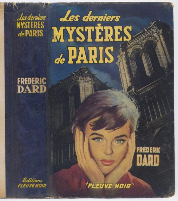 Auteur: DARD FREDERIC, titre: LES DERNIERS MYSTERES DE PARIS, Editions: Fleuve Noir E.O. 1958, en BE voir scan, livre en vente sur www.wanted-rare-books.com/frederic-dard-les-derniers-mysteres-de-paris-livre-jaquette.htm