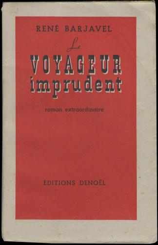 Plat couverture : Le voyageur imprudent de René Barjavel