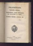 Rare Edition reliée Quelques Prophéties modernes, J. et H. Vander Schelden, Gand 1870, 1871, 1872 - www.wanted-rare-books.com/excentriques.htm