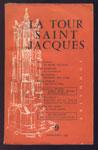 LA TOUR SAINT-JACQUES nº9, Mars-Avril 1957, sommaire: R. de Becker :James Dean, éude mythologique,E. Fraenkel : la Kabhale, Roussel et la toute puissance du langage, le bulletin de para-psychologie, W.E. Peuckert : Les rose-croix, La Tour Saint-Jacques Mars-Avril, R. Alleau: la messe des fous, 1957, en TBE, en vente sur www.wanted-rare-books.com/rayon-moderne.htm